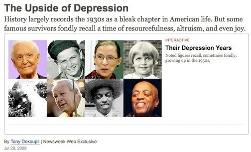 They Didn't Call it the 'Great' Depression For Nothing
