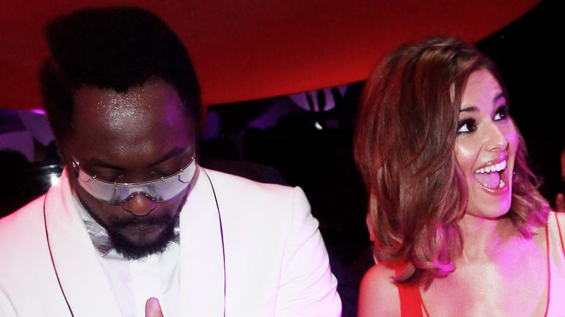 Will.i.am Crashed His Cadillac Into A Parked Car