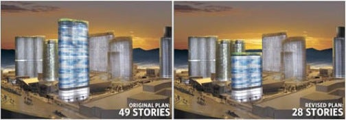 Planned 49-Story Vegas Hotel Gets Kneecapped to 28 Floors Because of Construction Fail