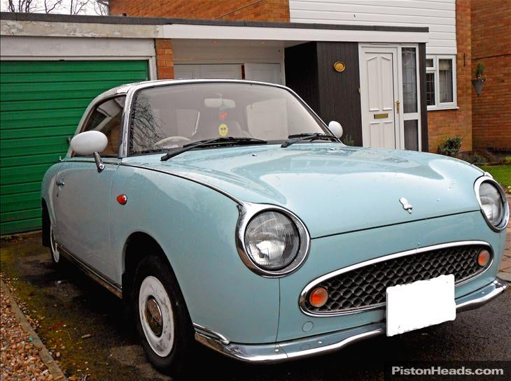 Test drove a Nissan Figaro today