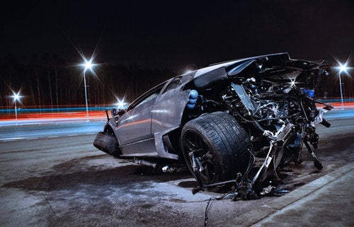 Even In Death, The Lamborghini Murcielago Is Beautiful
