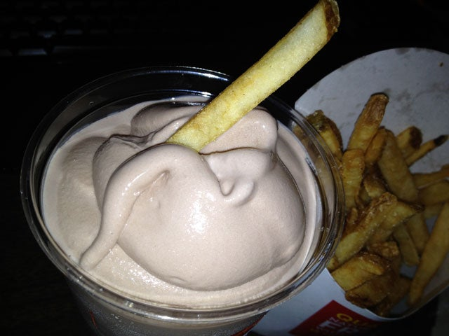 Wendy's Fries in a Wendy's Frosty: The Snacktaku Review