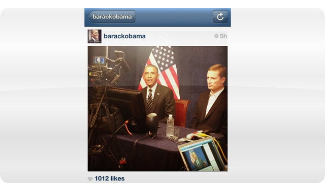 Barack Obama's First Instagram Post