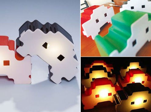 Space Intruderz Lamps Invade Our Hearts