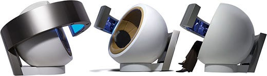 Design Concept: Comfort Sphere for Captive Audiences