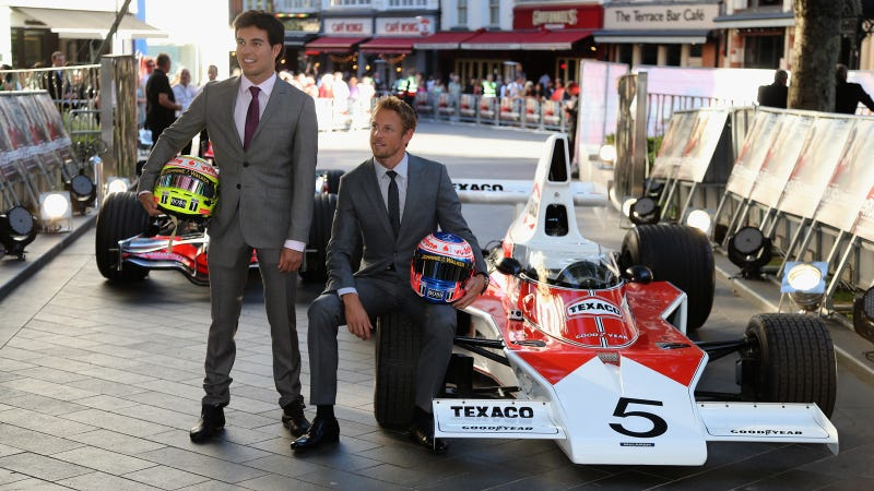 Two Real F1 Cars Showed Up Everyone At The RUSH Premiere In London