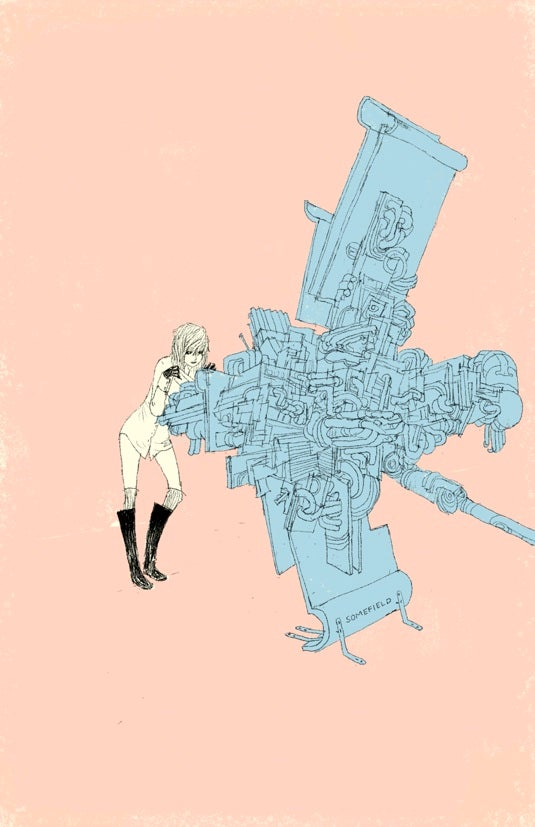 Barnaby Ward Pits Cute Girls Against Monsters and Giant Robots