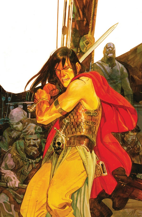 Read an exclusive sneak peek of Dark Horse Comics' Conan The Barbarian!