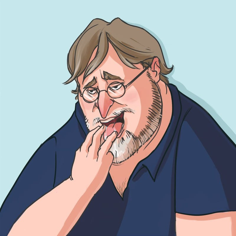 The Coolest, Weirdest Gabe Newell Fan Art We Could Find