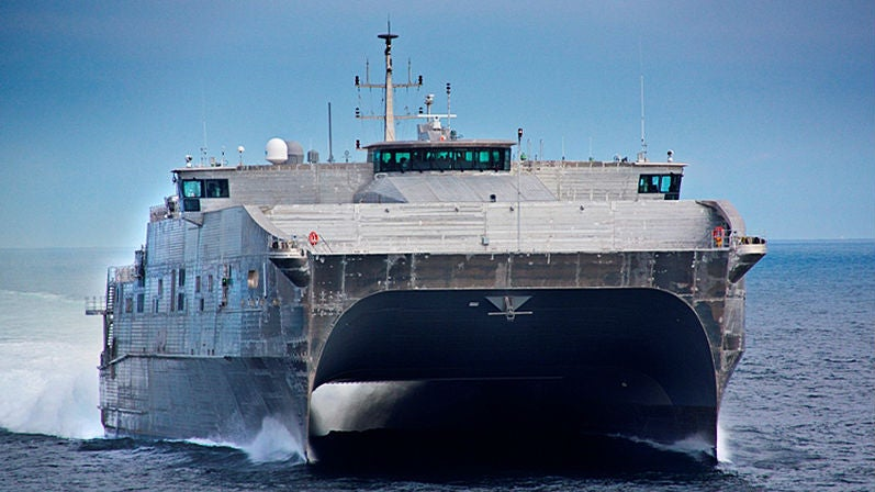 """The Navy's Newest """"Pickup Truck of the Sea"""" Just Launched"""