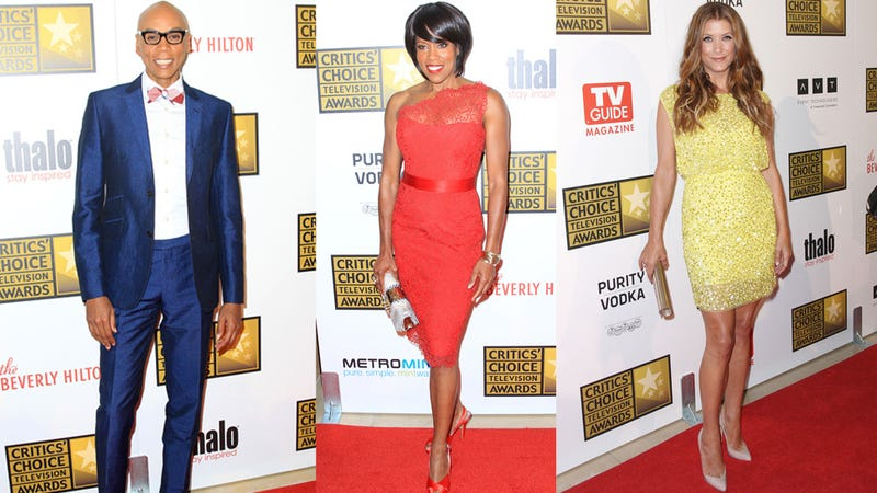 The Middling Fashions of the Critics' Choice Awards