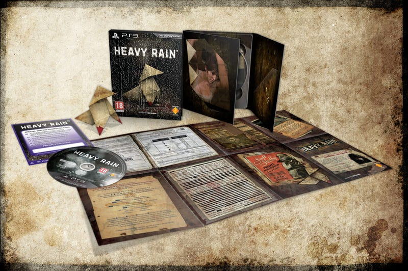 Heavy Rain's Special Edition Short On Wet Tank Tops