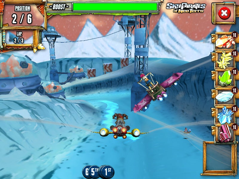 Sky Pirates of Neo Terra Races Gracefully Across Three Platforms