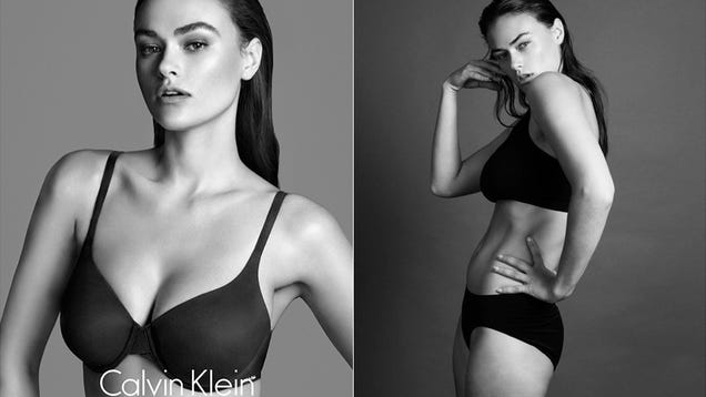 Normal Sized Models Mad That Plus-sized Model
