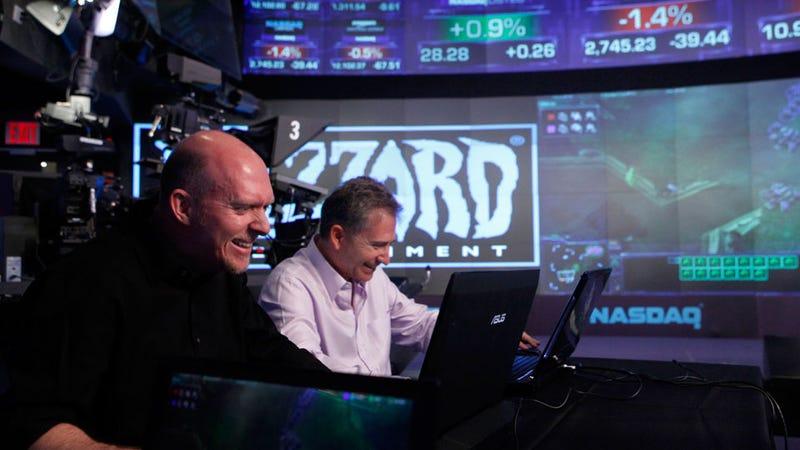 Blizzard Shuts Down NASDAQ