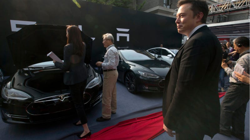 Elon Musk Made Just $70,000 As Tesla CEO Last Year