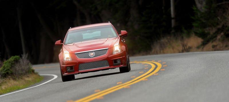 Cadillac CTS-V Sport Wagon: First Drive