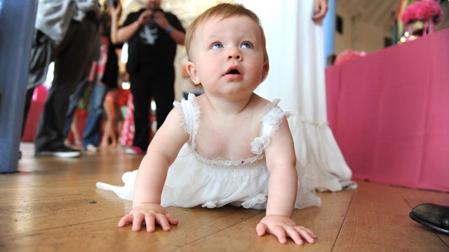 Baby In Awe Of Own Fame
