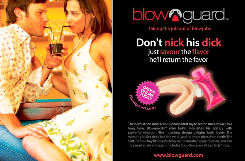 The Blowguard Keeps Teeth Away From Penises (NSFW)