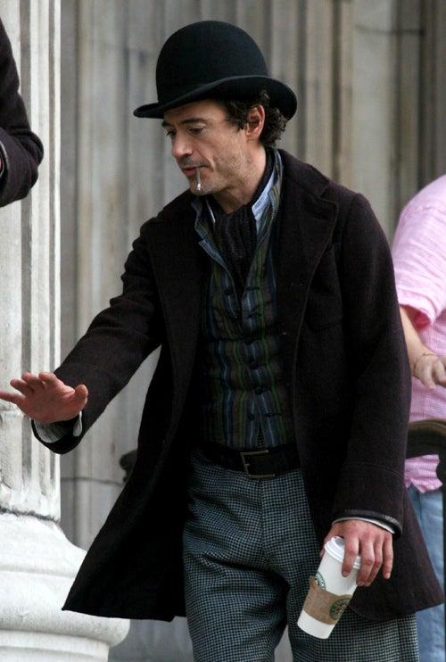 Robert Downey Jr. As Sherlock Holmes: It's A Venti Latte, Dear Watson
