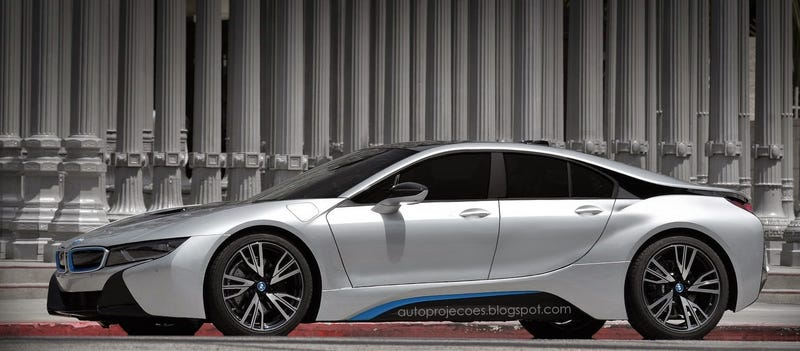 BMW i8 Gran Coupe