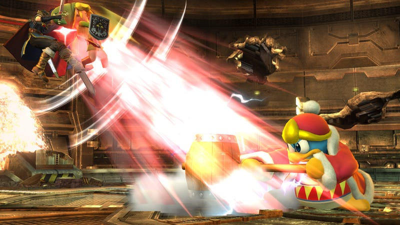 Smash Shot of the Day: Stop. Hammer Time.