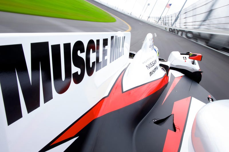 Meet Nissan's Lovely, Muscle Milky, Prototype Racer