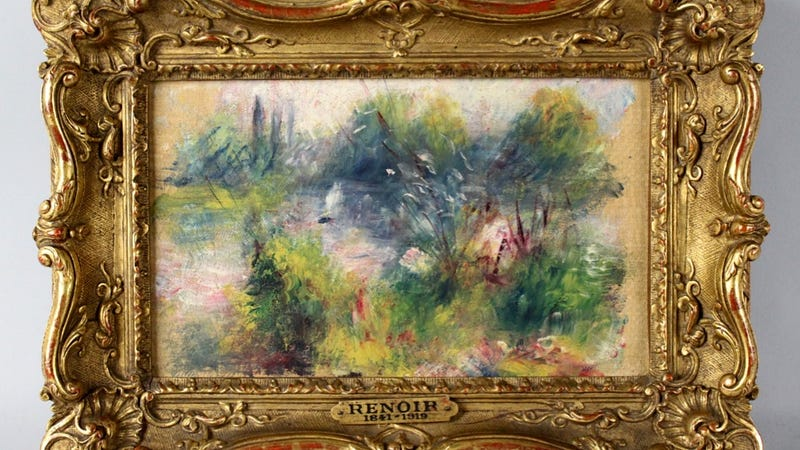 Woman Must Give Back the Renoir She Found in a West Virginia Junk Pile
