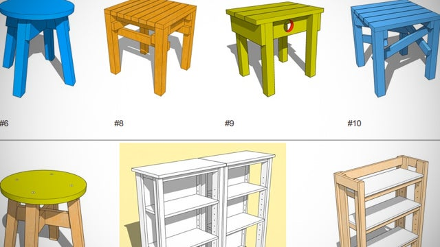 Diy design bank curates basic designs and instructions for for Diy minimalist furniture