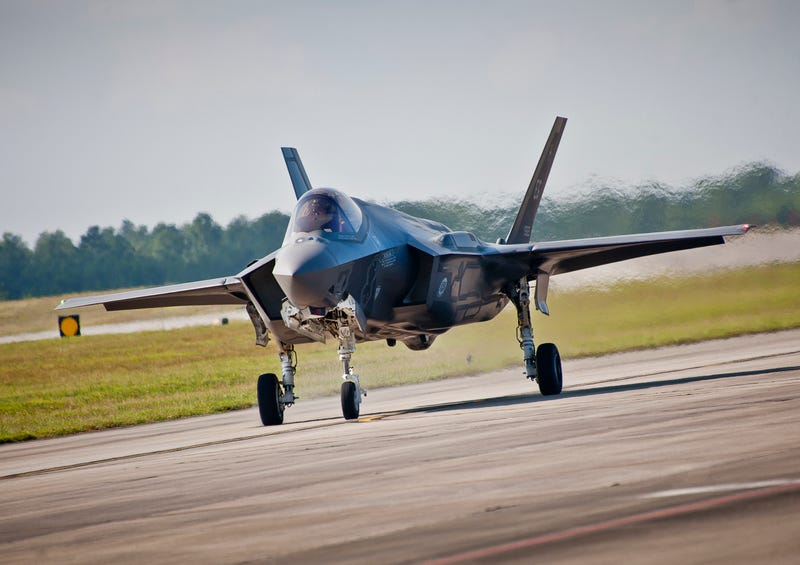 We Finally Know Why An F-35 Burned On The Runway
