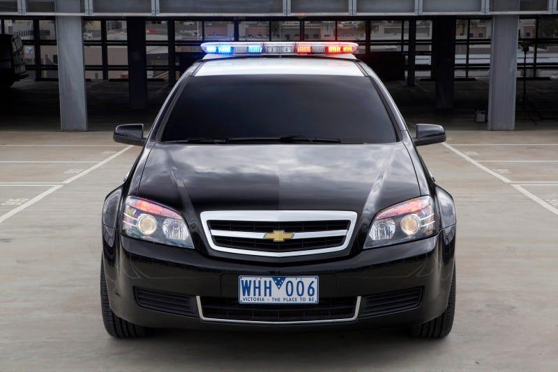 Chevy Caprice Police Car: Press Photos