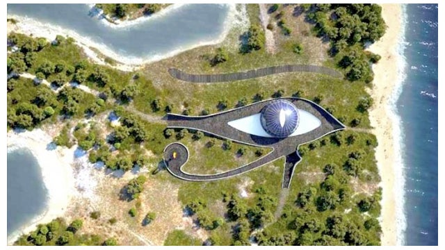Naomi Campbell is Going To Live In A Magical House Shaped Like An Ancient Egyptian God
