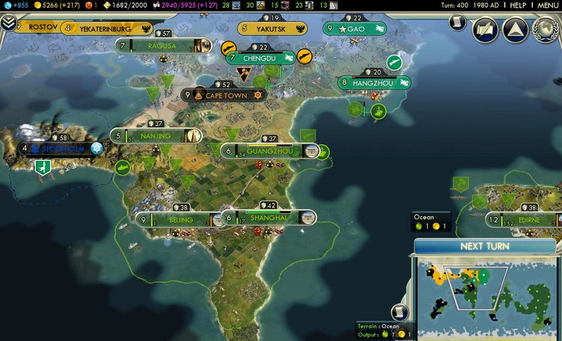Vote: What Should Our 401st Civilization V Move Be?