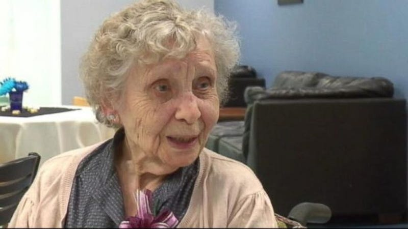 99-Year-Old Woman Finally Gets College Degree After Settling $5 Charge