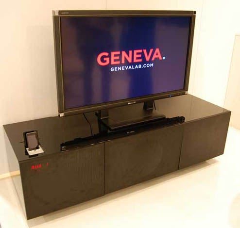 Geneva Lab's Shiny New Media Center Has iPod Dock, Unsurprisingly