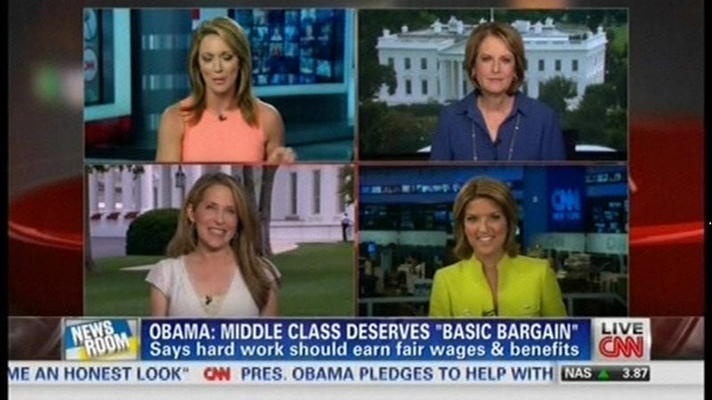 CNN Had Four Women Discuss Something Other Than Weddings & Babies