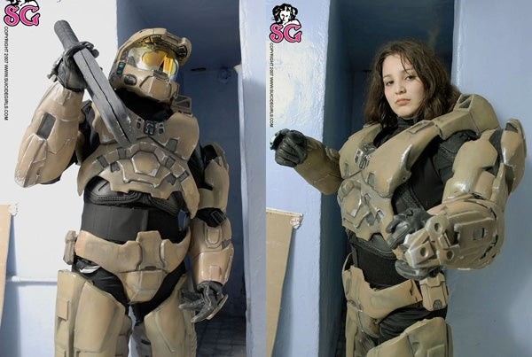 Master Chief Is Really a Lesbian, Marries Samus (NSFW)