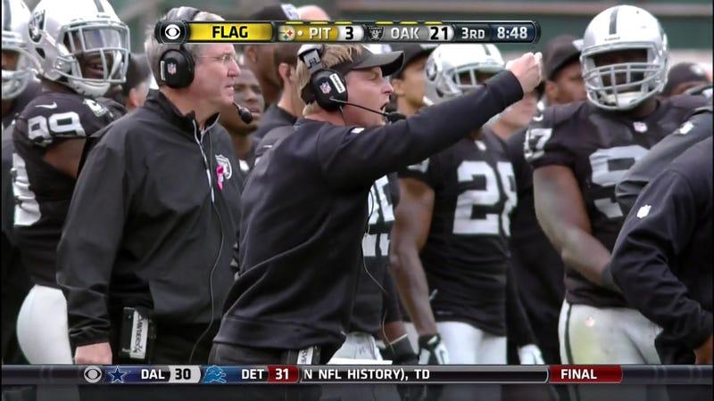 """Raiders DC Jason Tarver Flippin' Birds & Flingin' """"Fucks"""" At Referees"""
