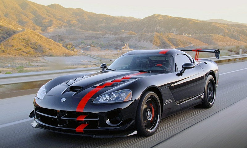 Ten Awesome Cars With Large Engines
