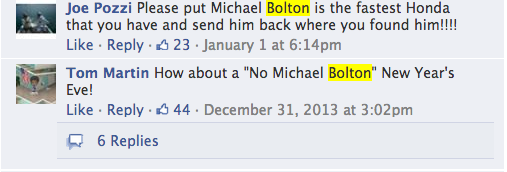 Everyone On Facebook Hates Those Michael Bolton Honda Ads