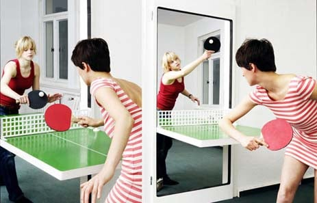 Door Transcends Door to Become Ping-Pong Table