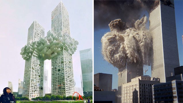 New twin towers unveiled as world39s jaw hits floor for How many floors twin towers