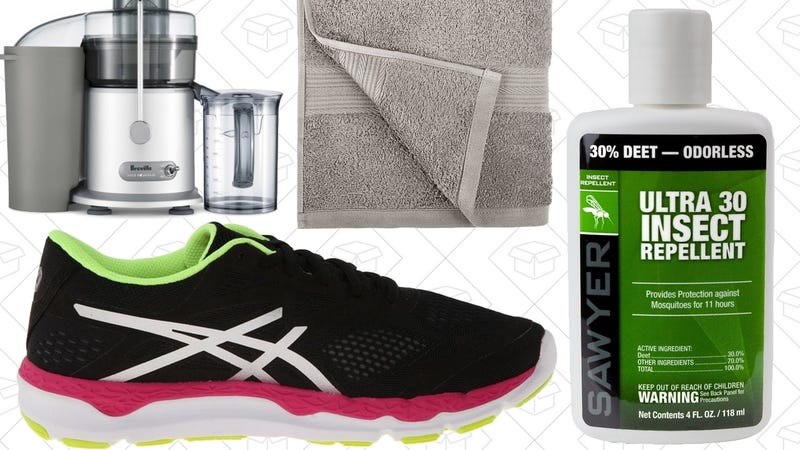 Sunday's Best Deals: Insect Repellent, AmazonBasics Towels, Homemade Juice, and More
