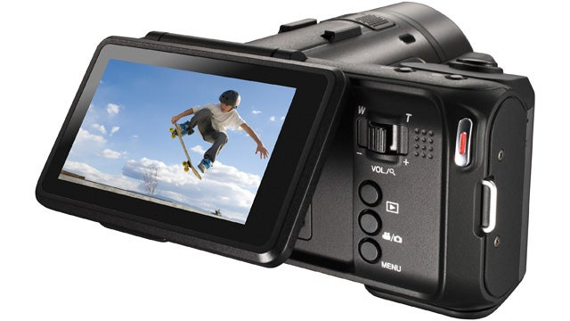 Is JVC's Crazy Looking New Camera the Mythical Hybrid Video/Still Camera?
