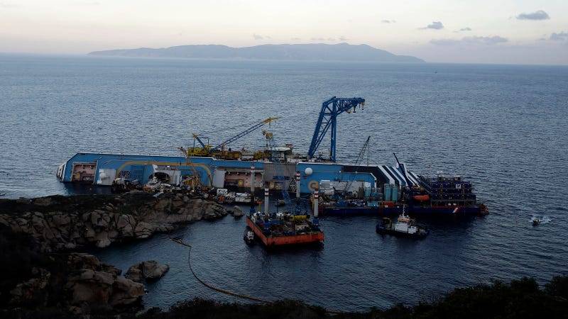 You Won't Believe What It'll Take to Free the Costa Concordia