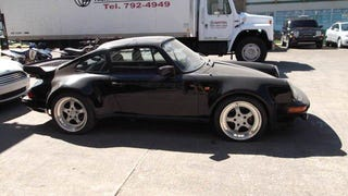 Buy a 1983 Porsche 930 Turbo from the Feds