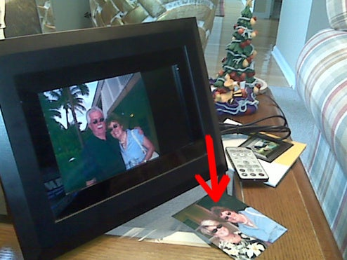 Dad, Where's the Digital Photo Frame?