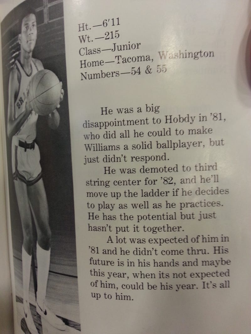 When Basketball Media Guides Were Brutally Honest