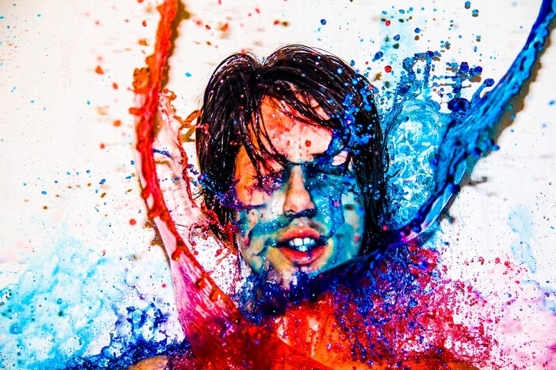 10 Photos Of Things Splashed With Paint And Other Stuff