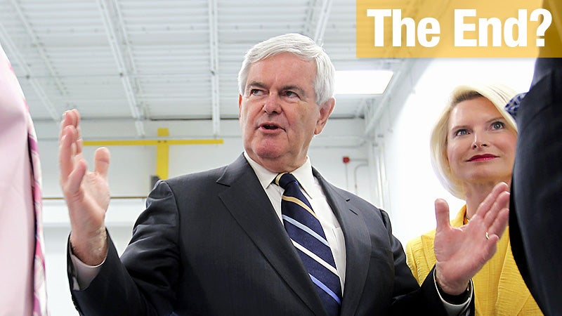 Mutiny on the Gingrich: Newt's Top Aides Quit En Masse